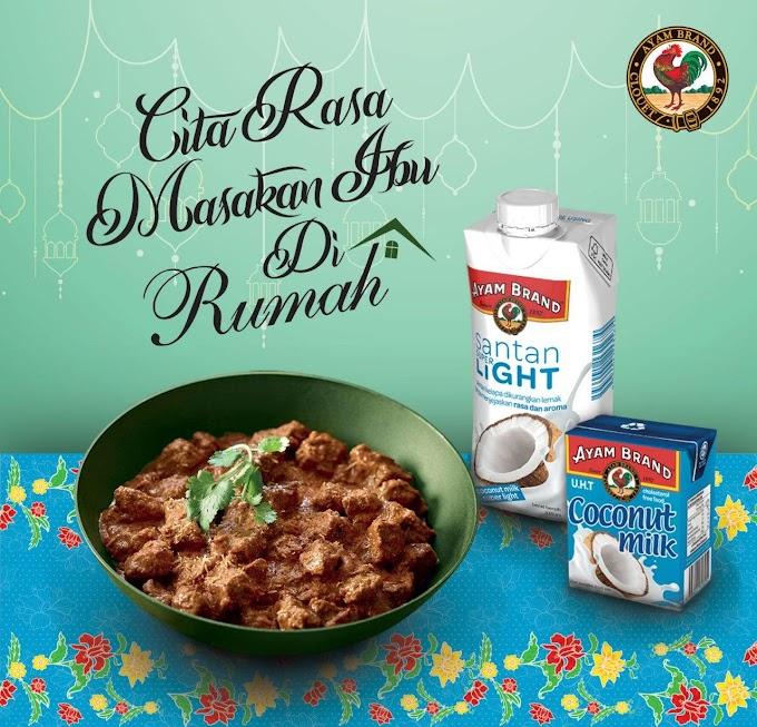 Resipi Rendang Daging : Cita Rasa Masakan Ibu di Rumah Bersama Ayam Brand!
