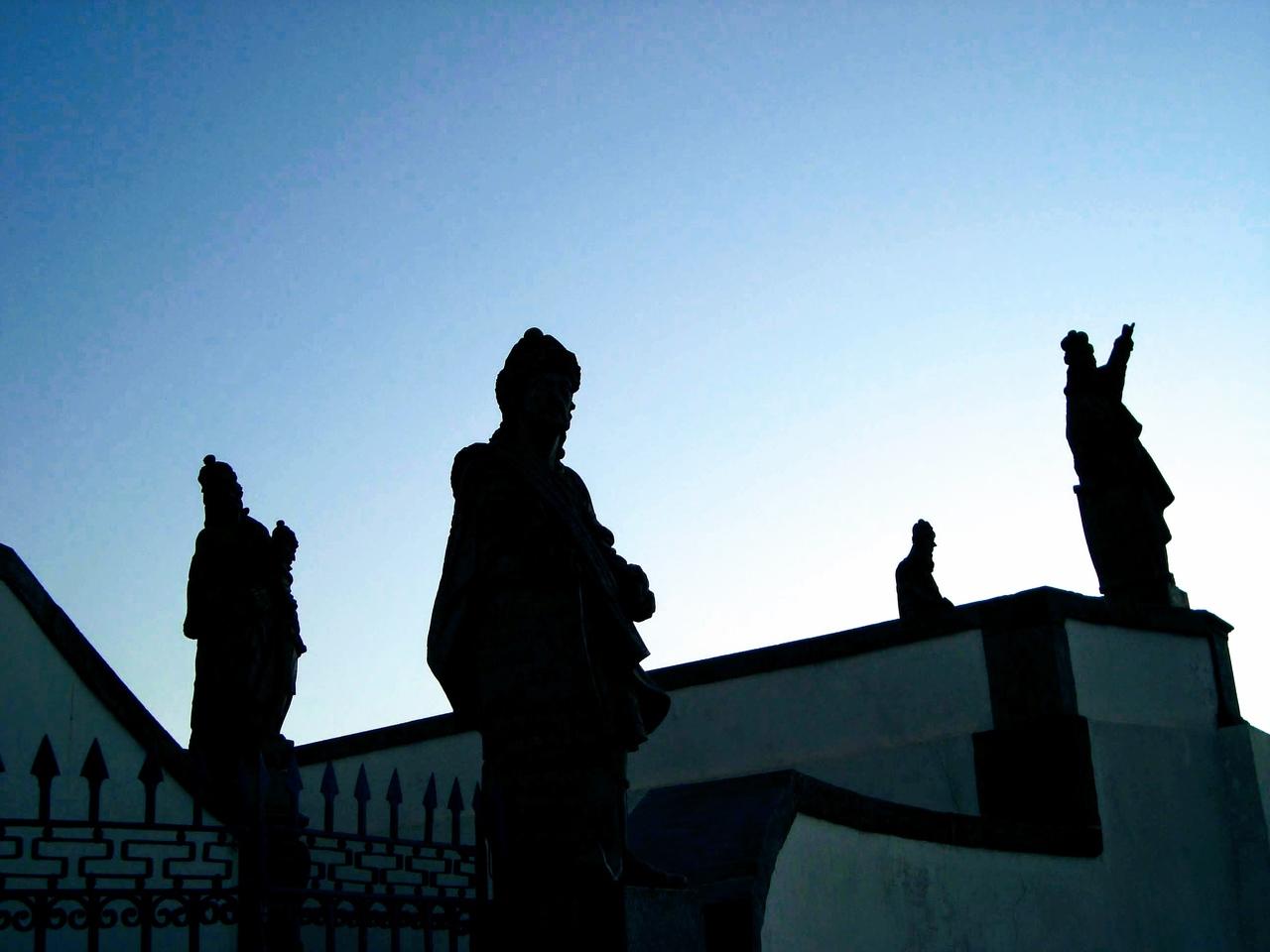 Profetas feitos por Aleijadinho - Santuário Bom Jesus do Matosinhos