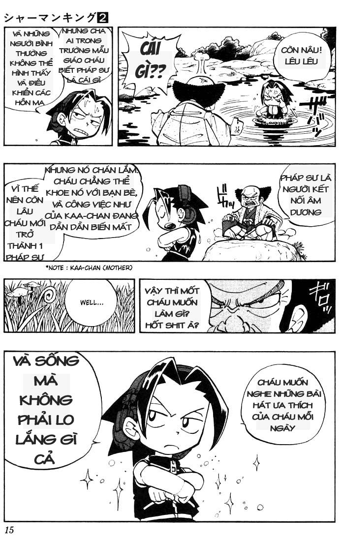 Shaman King [Vua pháp thuật] chap 9 trang 11