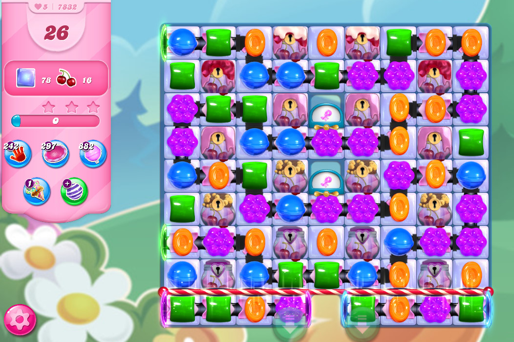 Candy Crush Saga level 7832