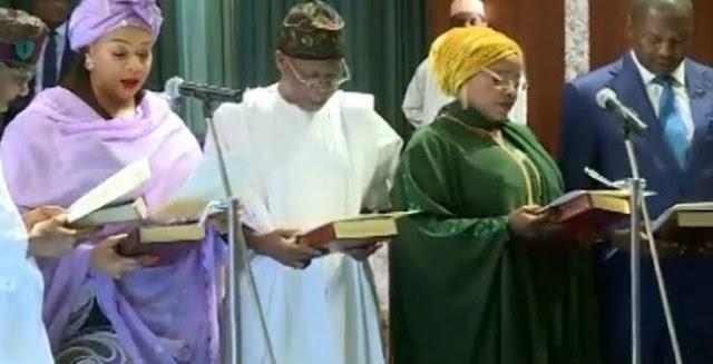 Governor Bello Congratulates Minister Of State FCT, Dr Ramatu Tijani
