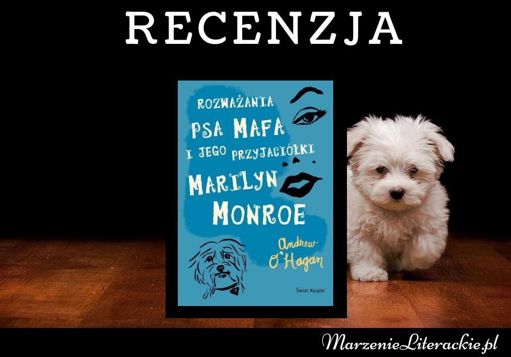 Andrew O'Hagan - Rozważania psa Mafa i jego przyjaciółki Marilyn Monroe | Nietypowy obserwator i ikona lat 60-tych. Kto mógłby lepiej znać samą Marilyn Monroe jak nie jej uroczy pies?