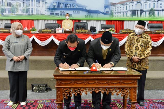 DPRD Kepri Menyetujui Penetapan Perda Susunan Perangkat Daerah