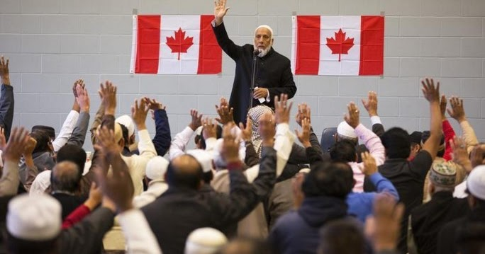 muszlim kanadai nő meeting pók know