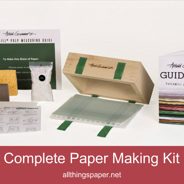 Arnold Grummer's Complete Paper Making Kit contents