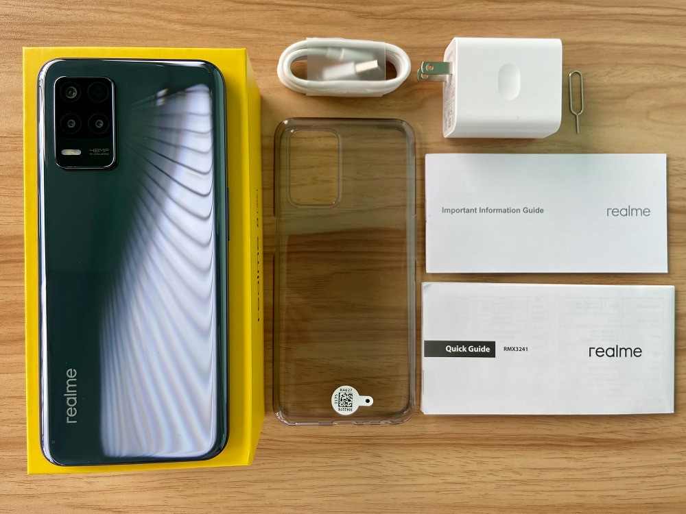 realme 8 5G What's in the Box