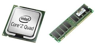 gambar prosesor dan ram