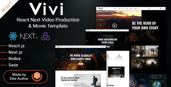 Best Video Production & Movie Template