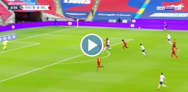 England vs Belgium Live Score