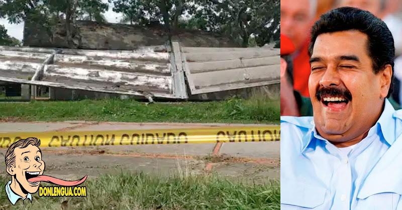 Maduro asegura que arreglará techo de la UCV cuando acabe de limpiar el Rio Guaire