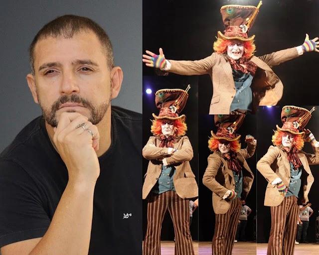 O ator Alex Heiro de Ribeirão Preto está no RJ com vários trabalhos .