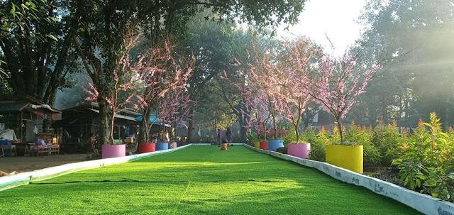 Objek Wisata Taman Bunga Poska