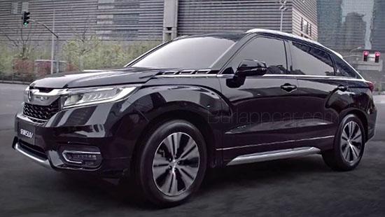 Burlappcar: New Honda Avancier