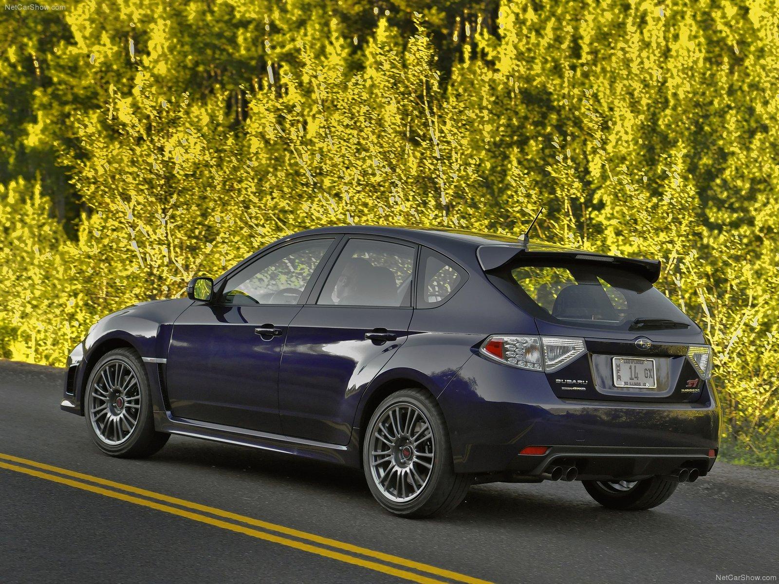 Subaru Impreza Wrx Sti 2011 Sport Cars