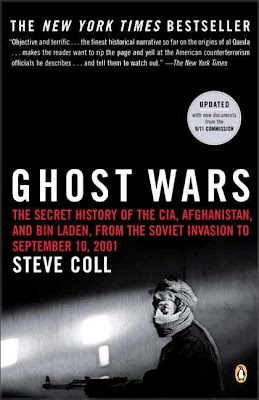 Ghost Wars by Steve Coll - book cover