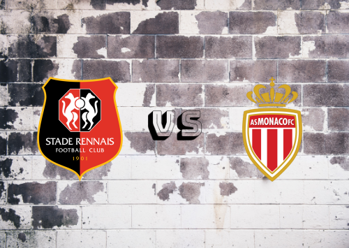 Rennes vs AS Monaco  Resumen