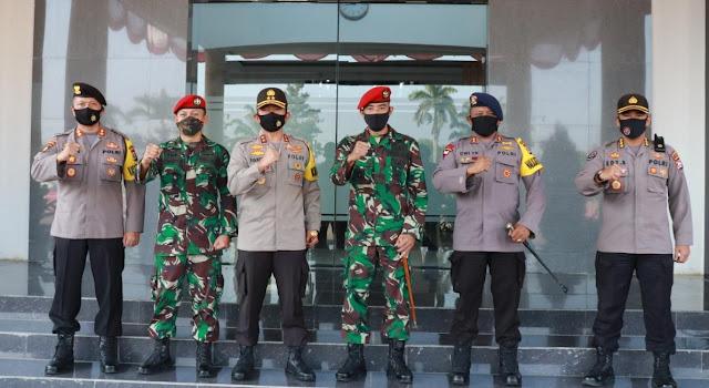 Pererat Sinergitas, Kapolda Banten Terima Kunjungan Dan Grup 1 Kopasus