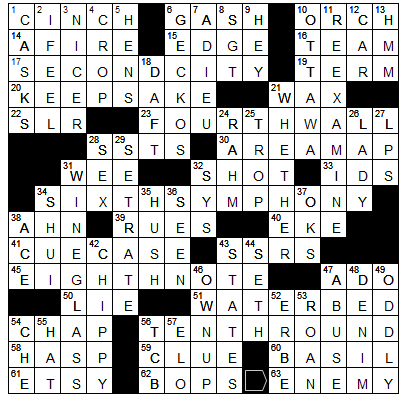 L A Times Crossword Corner Monday July 27 2020 Matt Mckinley