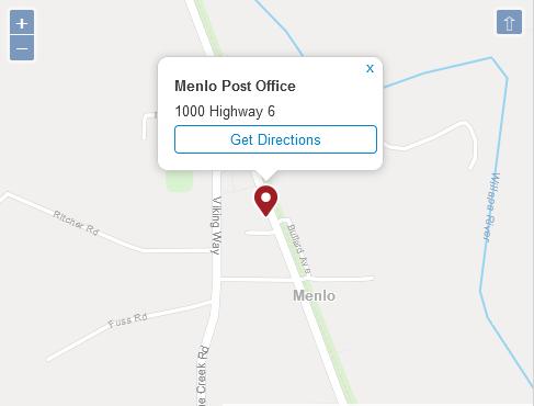Menlo Post Office