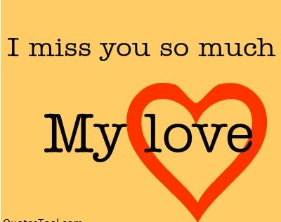 Miss u so much sms