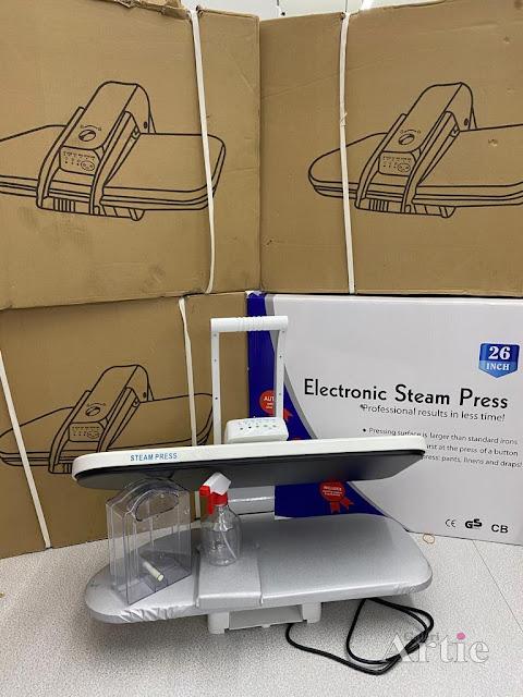 Stok borong digital steam press baru saiz besar untuk butik tampal manik berlian