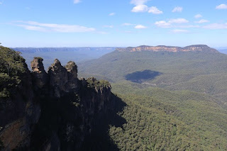 Three Sisters and Mt Solitary