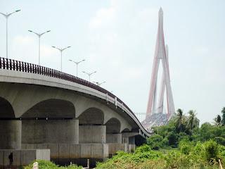 La città di Can Tho in Vietnam