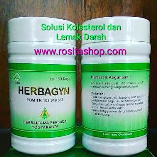 Herbagyn Herbal Untuk mengobati Kolesterol