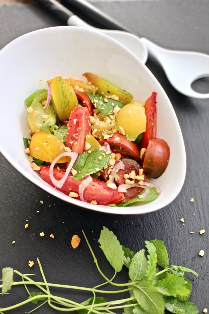 Tomatensalat Rezept mit Minze