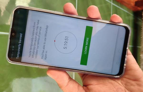 Cara Mengatasi WhatsApp Mod diblokir Sementara