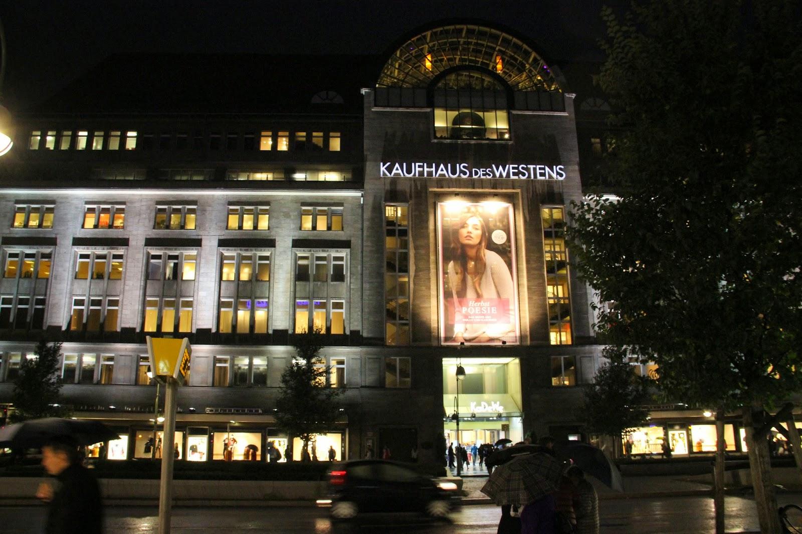 Шопинг в Берлине, kdw, karstadt,primark, cundA, berlinerstil, humana