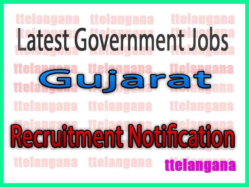 Latest Gujarat Government Job Notifications