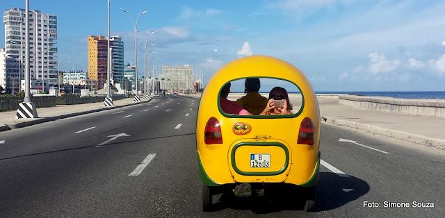 Coquito, táxi turístico em Havana, Cuba