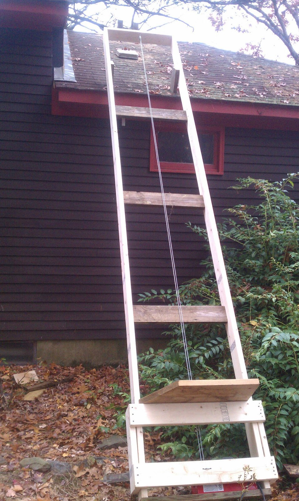 50 Of Capacity Diy Shingle Lift