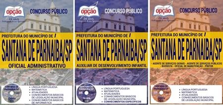 Apostila Concurso Prefeitura de Santana de Parnaíba 2017