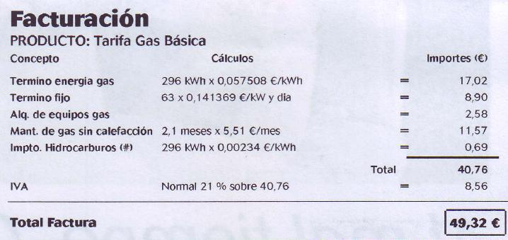 Gas Natural De Juarez Facturacion
