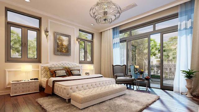 Thiết kế phòng ngủ liền kề Geleximco