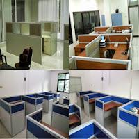 Meja Sekat Kantor - Custom Furniture Kantor (Office) Semarang