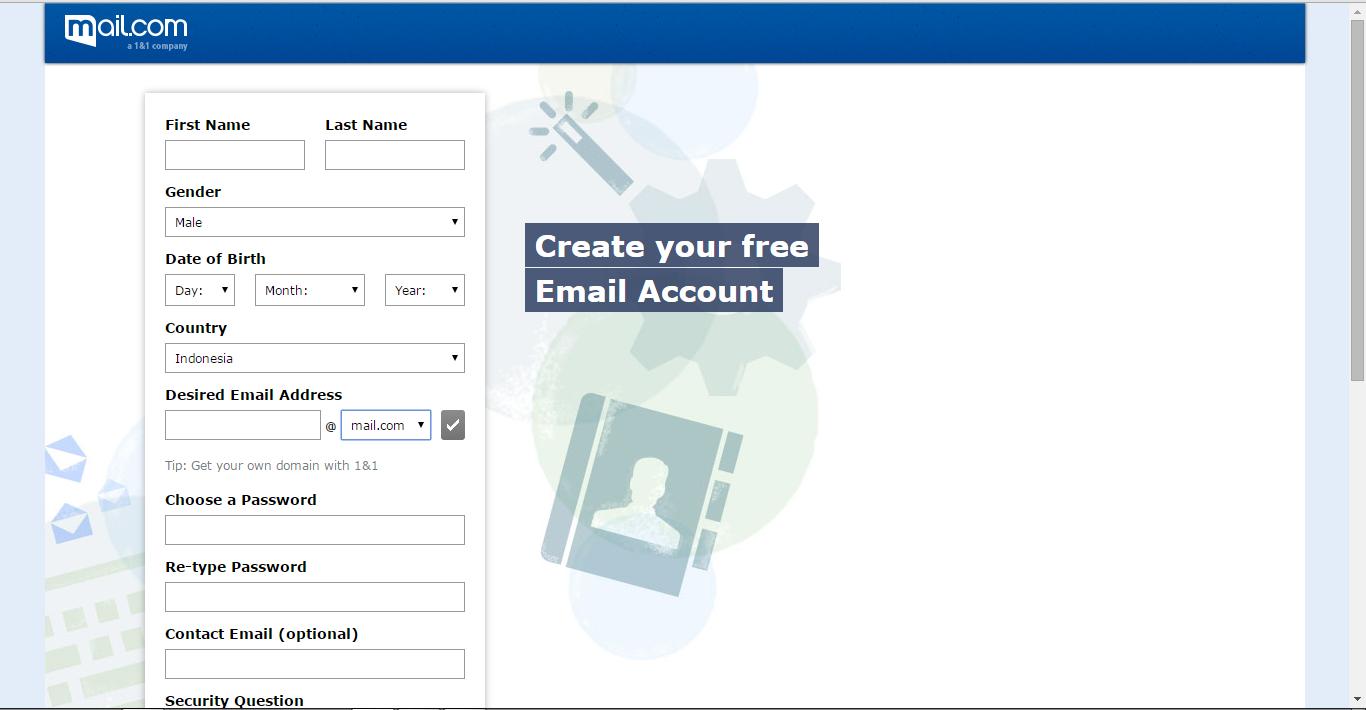 Cara Membuat Email Unik Terbaru