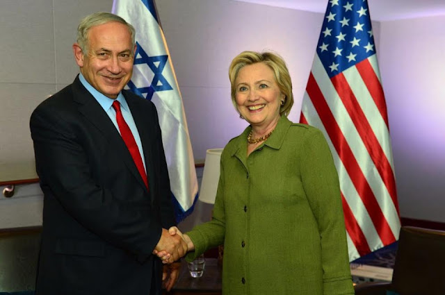 Netanyahu se reunió con Hillary Clinton