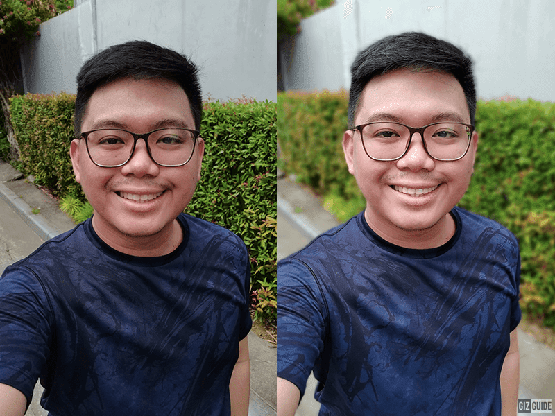 Normal vs Face beauty with Bokeh 1