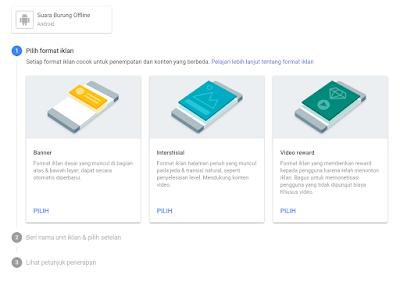 Cara Membuat Unit Iklan Admob untuk Android