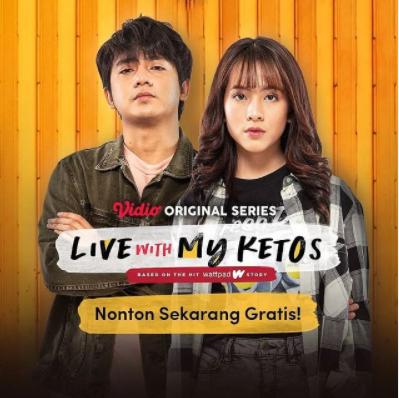 Link Streaming Nonton Live With My Ketos Episode 2 Secara Gratis di Vidio Full HD Film Zara Adhisty Arbani Yasiz dan Arya Vasco