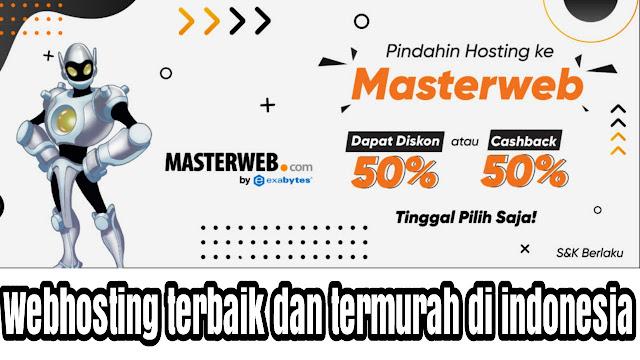 layanan webhosting terbaik dan termurah di indonesia
