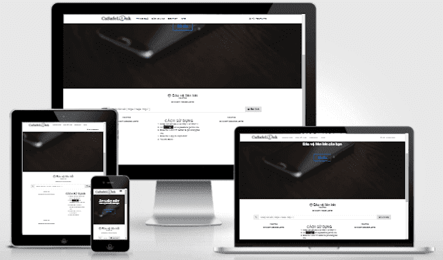 Hide Links Very Professional Blogger Template Free Download
