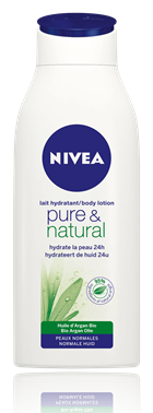la ptite picarde revue lait hydratant pure natural peau tr s s che et sensible de nivea. Black Bedroom Furniture Sets. Home Design Ideas