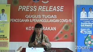 Press Release COVID-19 Tarakan 27 Juli 2020 - Tarakan Info