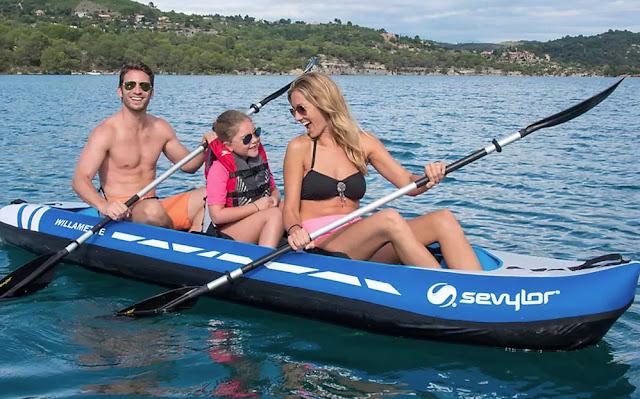 kayak-en-familia