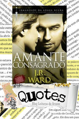 Imagem capa frases de livros amante consagrado