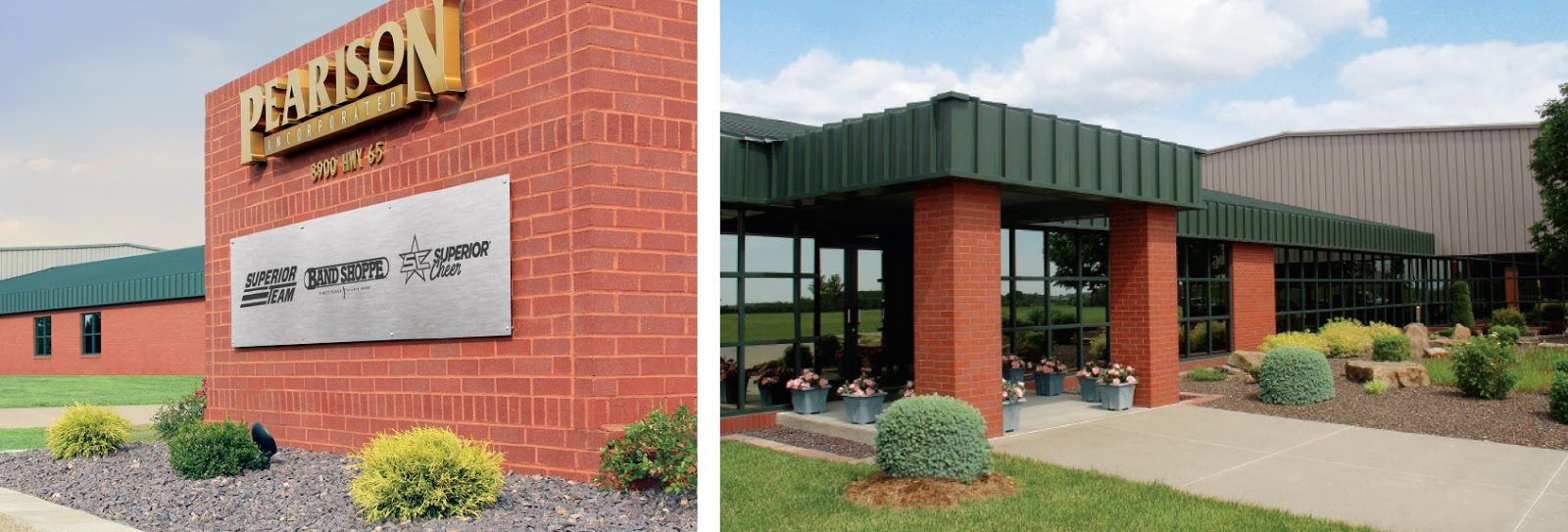 Pearison Inc, home of Band Shoppe, Superior Cheer, and Superior Team